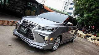 New Toyota Innova Crysta Modified  LX Sport 2018  Looking Superb More Muscular || CAR CARE TIPS ||