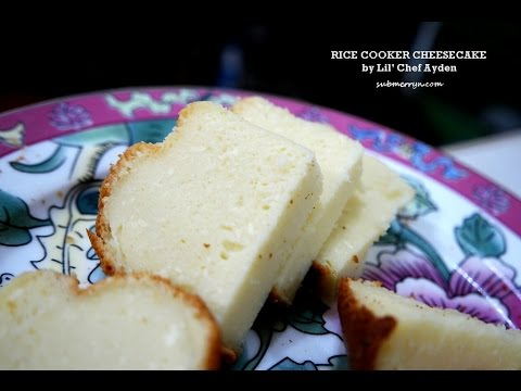 Rice Cooker Cake Easy And Delicious Cheesecake Recipe Youtube