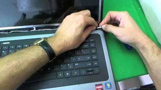 HP 2000 Notebook Screen Replacement  Procedure