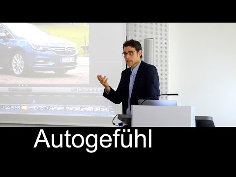 Autogefuehl Thomas speech on Automotive Industry at Universi
