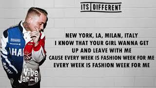 Blackbear - Fashion week (Lyrics) it's different Remix