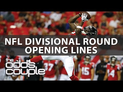NFL Picks I Odds Couple I Divisional Round Opening Lines