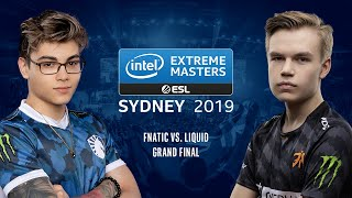 CS:GO - Fnatic vs. Liquid [Dust2] Map 4 - Grand Final - IEM Sydney 2019