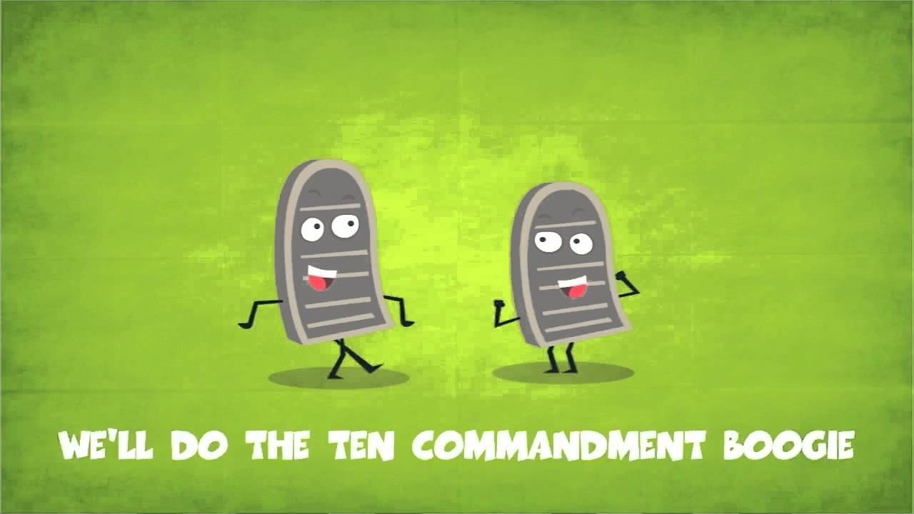 go fish the ten commandment boogie youtube
