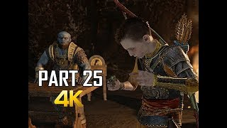 GOD OF WAR Gameplay Walkthrough Part 25 - HAUNTED RING (PS4 PRO 4K Commentary 2018)