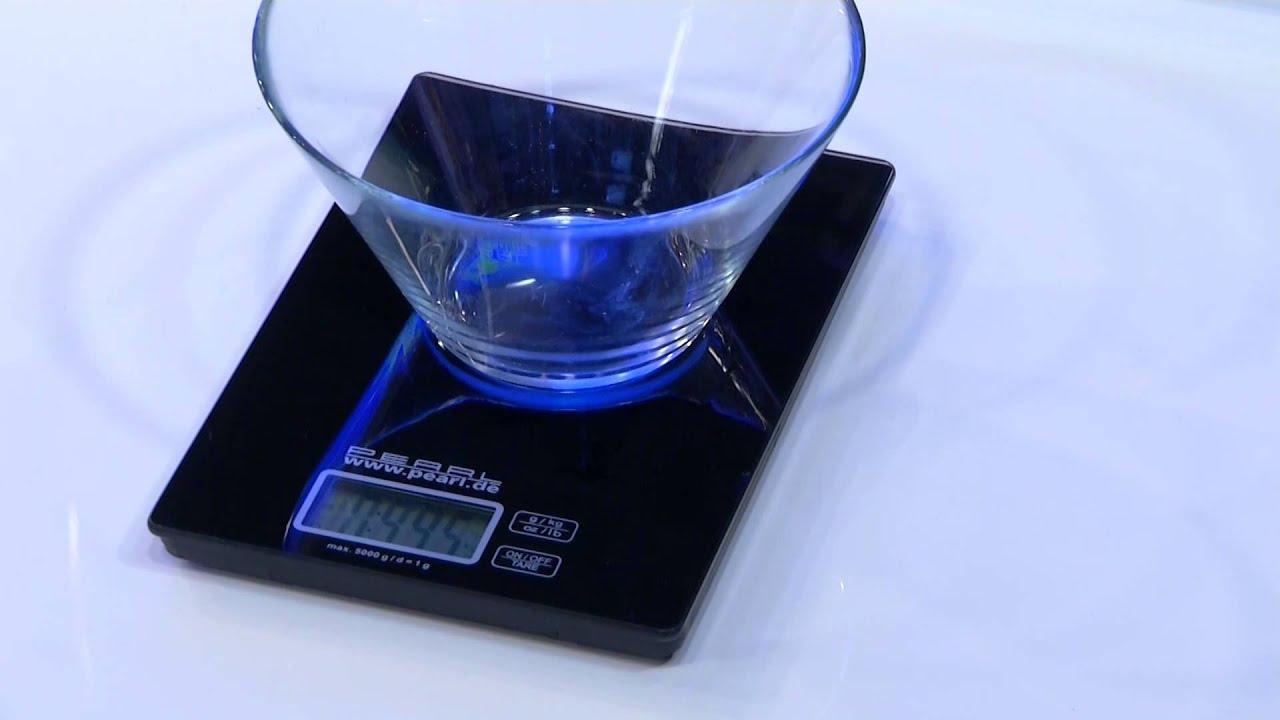 präzise digitalwaage für küche und büro bis 5 kg youtube