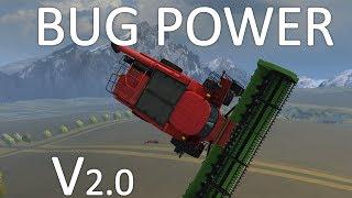 BUG POWER V2 sur Farming Simulator 2013 (tractor dancing) !!!