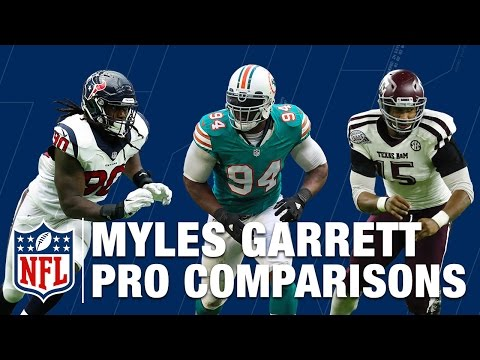 Who Is Better: Myles Garrett, Jadeveon Clowney, or Mario Williams | NFL Network | UTM