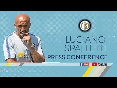 LUCIANO SPALLETTI | LIVE PRESS CONFERENCE | Inter 2018/19 |…