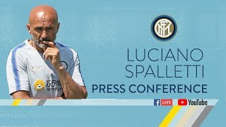 LUCIANO SPALLETTI | PRESS CONFERENCE | #InterPreSeason 2018/19 🎙️⚫️🔵
