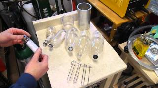 Blow Molding Plastic Water Bottles