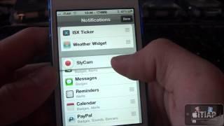 SlyCam - Prendre des photos depuis notre Centre de Notification iOS 5 !