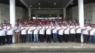 Gambar cover video lagu Garuda Pancasila di bawakan oleh panduan suara TelkomGroup Kalimantan