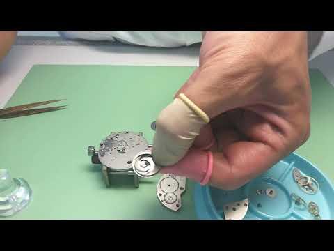 Watchmaking Easy Mainspring Unwinding