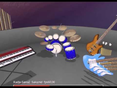 Radja - Sama Sama Suka (Instrumental)