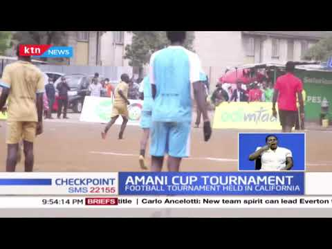 Football tournament held in California to discourage youths from vices