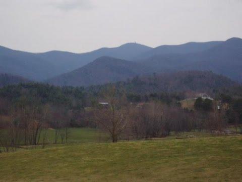 Brasstown Bald, the highest point in Georgia