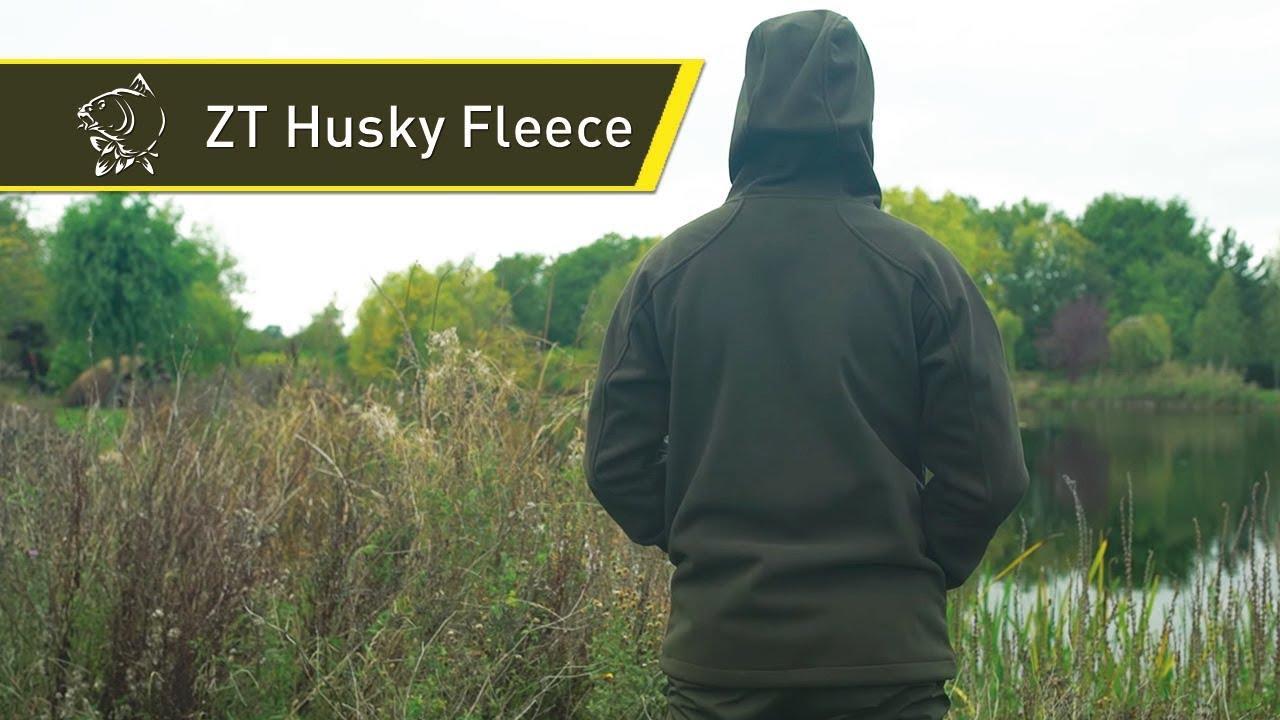 Nash ZT Husky Fleece Hoody//Pêche à La Carpe Vêtements