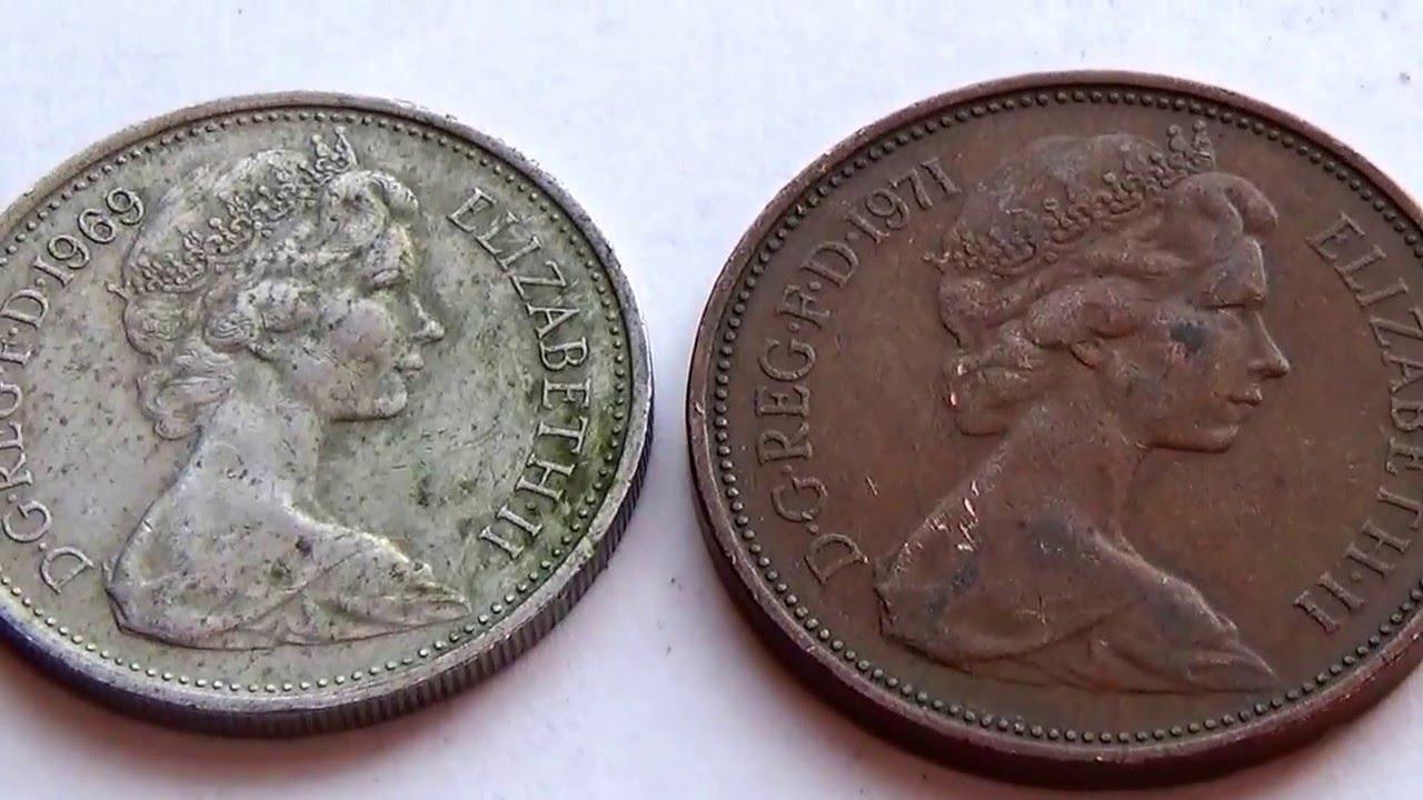 Elizabeth Ii F D Coins Youtube