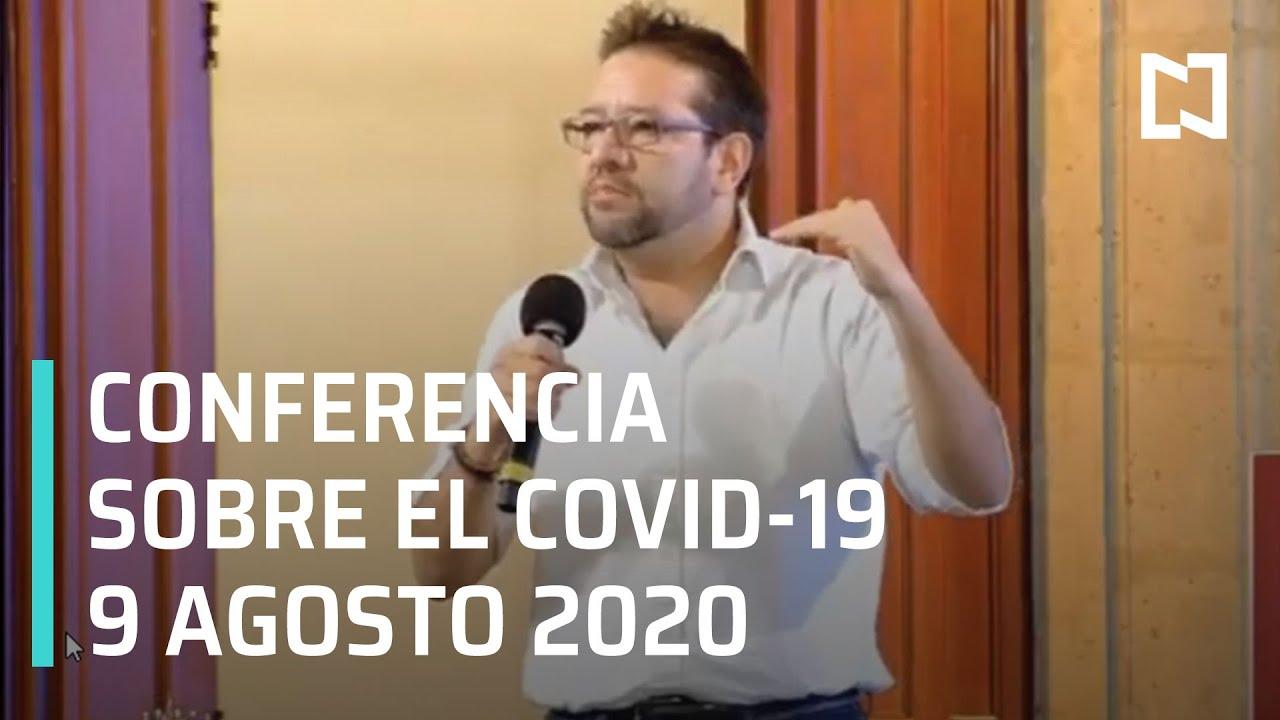 Conferencia Covid-19 en México - 9 de Agosto 2020