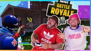 TEACHING MY DAD HOW TO PLAY FORTNITE