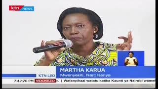 Martha Karua:  Ipo haja ya kubuni sheria za kudhibiti kampeni nchini