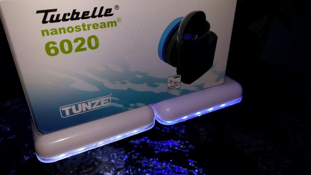tunze turbelle nanostream 6020 review youtube