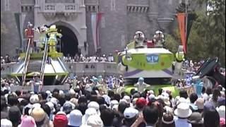 2004年6月15日東京ディズニーランド バズ・ライトイヤー 夏の大...