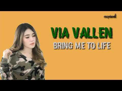 Keren! Bring Me To Life - Evanescence (Via Vallen Cover Versi Dangdut Lirik)