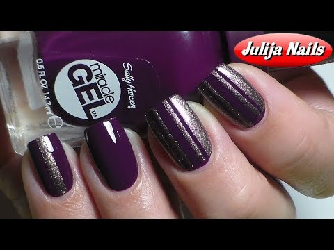 ▶ Гель лак Sally Hansen без УФ лампы / Sally Hansen Miracle Gel