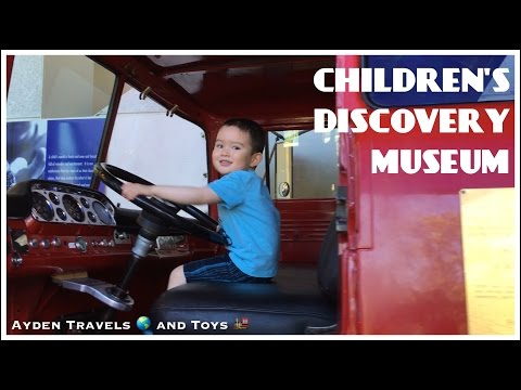 CHILDREN'S DISCOVERY MUSEUM | Fun Kids Education Exploration Imagination Science Art Water Play
