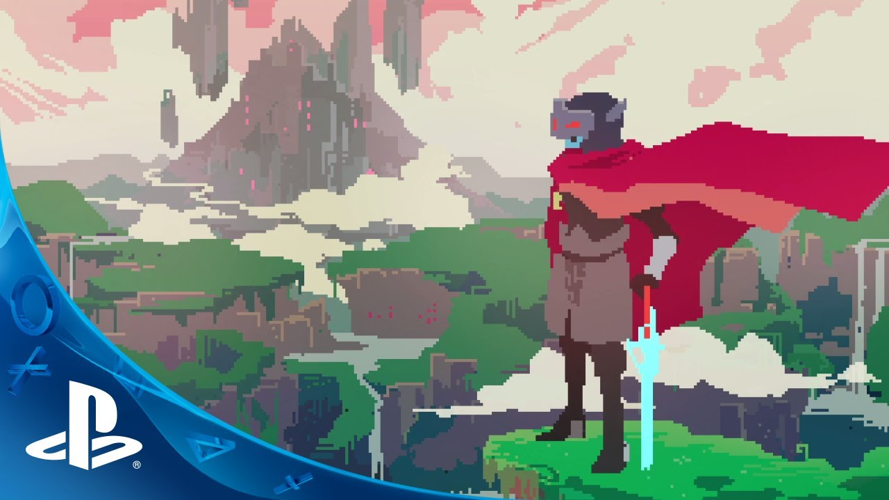 Hyper Light Drifter Coming To Ps4 And Ps Vita Youtube