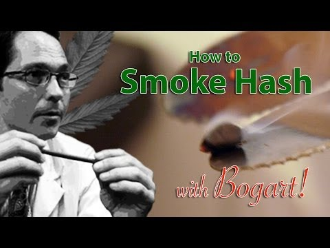 How to Smoke Hash Marijuana Tips & Tricks w Bogart #17