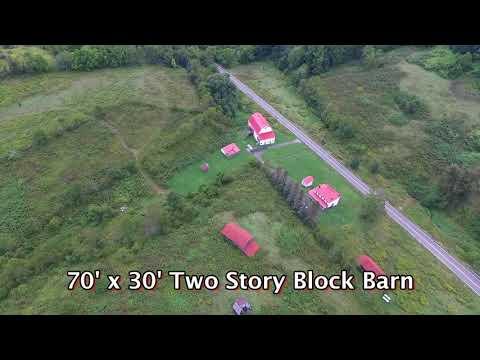 90 Acre Graysville, Pennsylvania Farm