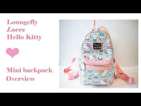 Loungefly Hello Kitty Mini Backpack (packed With Ju-Ju-Be)