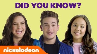 Ricardo Hurtado, Breanna Yde, and Lilimar are sharing 5 little known facts about themselves! Ricardo is sharing his nickname, Lilimar is obsessed with stuff ...