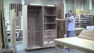 Cedar- Lined Armoire
