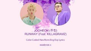 [MIXTAPE] 주헌 (JOOHEON) RUNWAY (Feat. KILLAGRAMZ) (Color Coded Han/Rom/Eng/Esp Lyrics)