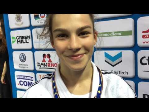 INTERVIEW - Ana Viktorija PULJIZ i Dragan CRNOV - EUROPSKO KADETSKO (U18) PRVENSTVO, Kaunas (LTU)