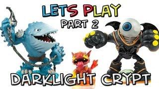 Lets Play: Thumpback, Eye-Brawl and Hot Dog - Darklight Crypt - Part 2
