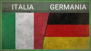 ITALIA vs GERMANIA - Confronto Militare - 2018