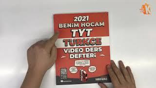 Benim Hocam Yayınları 2021 TYT Türkçe Video Ders Defteri - Kadir Gümüş