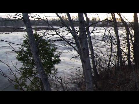 Rivière SainteAnne SainteAnnedesMonts  le 7 mai 2017