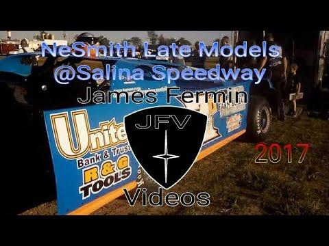 NeSmith Late Models #3, Heat, Salina Speedway, 2017
