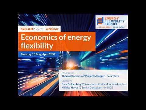Economics of Energy Flexibility (Solarplaza Webinar)