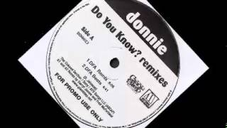 Donnie - Do You Know? (DFA remix)