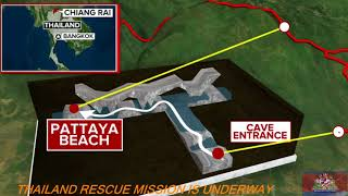 Thai cave rescue coverage of boys soccer team rescue operation from Thailand cave