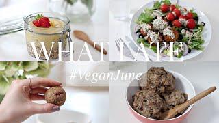 What I Ate #VeganJune 21 (Vegan/Plant-based) | JessBeautician