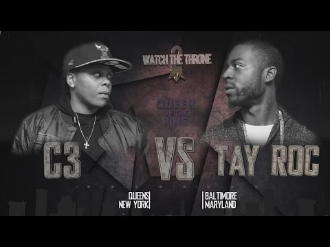 TAY ROC vs C3 QOTR presented by BABS BUNNY & VAGUE (FULL BATTLE)