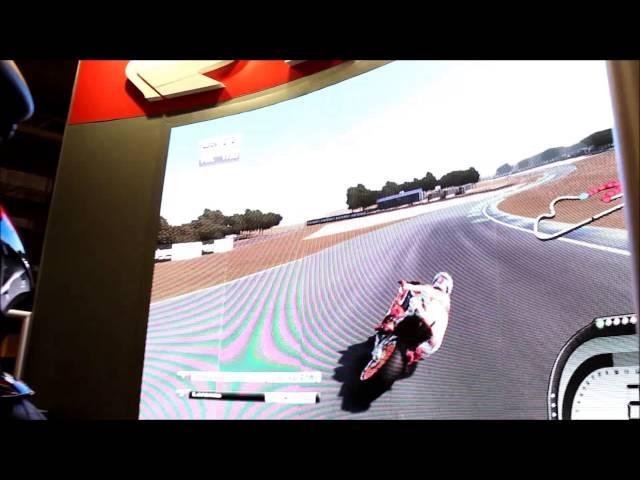 Simulador Moto Honda na Brasil Game Show